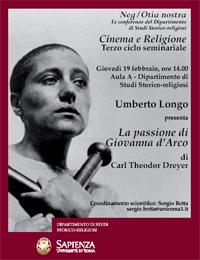 cinema e religione giovanna d'arco