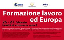 formazione lavoro europa cagliari 2009