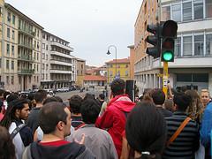 protesta studenti torino