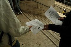stop volantinaggio universita torino