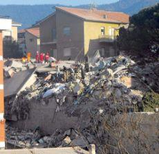 Crollo Casa dello Studente L'Aquila