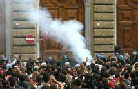 studenti manifestazione Gelmini