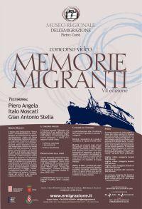 concorso memorie migranti 2010