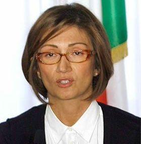 Il ministro dell'Istruzione Mariastella Gelmini