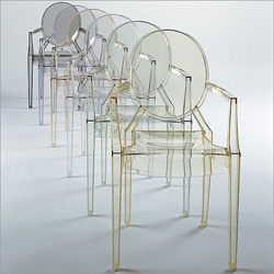 Louis Ghost Chair by Philippe Starck
