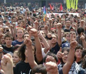 Proteste contro la riforma Gelmini