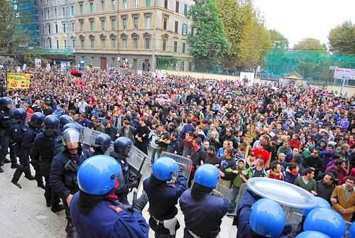 proteste studenti 30 novembre