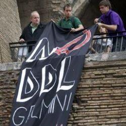 Proteste contro il ddl Gelmini