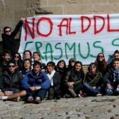 Studenti Erasmus contro il ddl Gelmini
