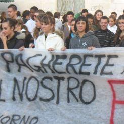 Proteste studenti