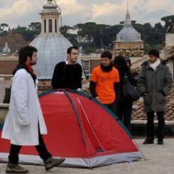 Ricercatori sul tetto
