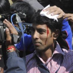 Scontri studenti India