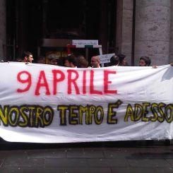 Manifestazione 9 aprile
