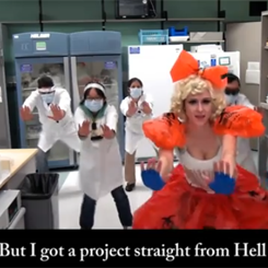 Bad Project, la parodia scientifica di Lady Gaga