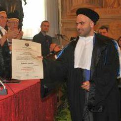 La laurea honoris causa a Roberto Saviano