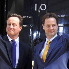 David Cameron e Nick Clegg