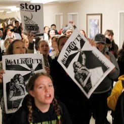 Protesta studenti California State university