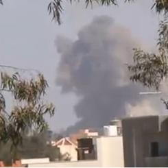 Tripoli, universita colpita dalle bombe