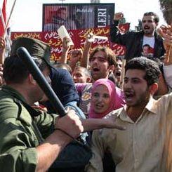 Proteste studenti Siria