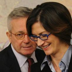 I ministri Tremonti e Gelmini