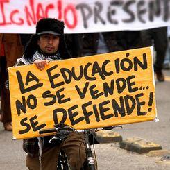 La protesta studentesca in Cile: calm like a bomb!