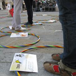 Trieste, il gioco del ricercatore errante