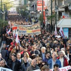 Sciopero generale Grecia