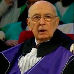 Napolitano laureato ad honorem a Bologna