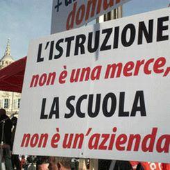 Protesta docenti