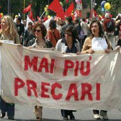 Protesta precari
