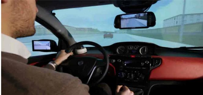 universita di firenze simulatore di guida
