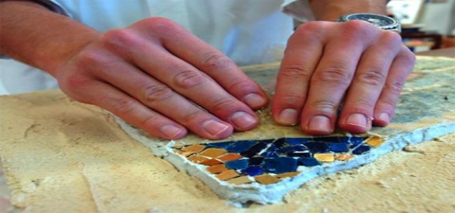 Progetto Leonardo restauro del mosaico 2013