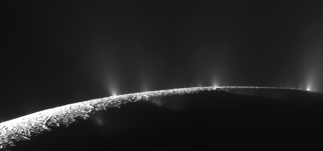 forme di vita su encelado, la luna di saturno
