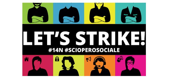 sciopero sociale del 14 novembre 2014