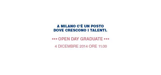 Open Day Graduate di Bocconi