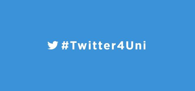 #twitter4uni